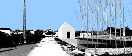 Fotomontagem vista da Rua Miranda
