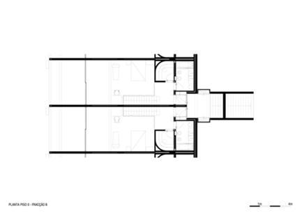 Planta Piso 0 - módulo tipo (entrada)