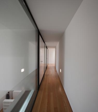Vista Interior do Corredor