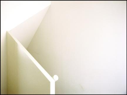 Vista das escadas
