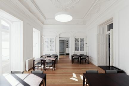 Vista Interior da Sala Polivalente/Antiga Sala de Refeições
