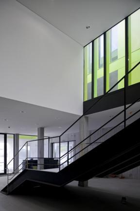 Vista Interior da Escada Principal