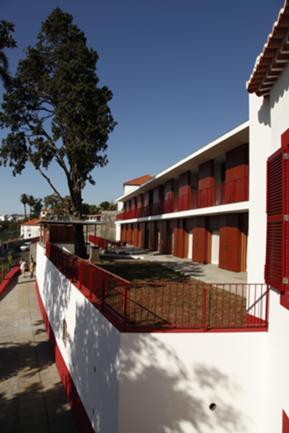 Relação da Ampliação (quartos) com os Patamares da Encosta do Funchal