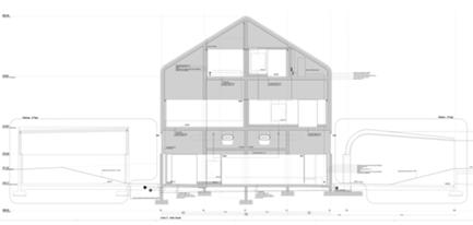 secção transversal edifício novo C
