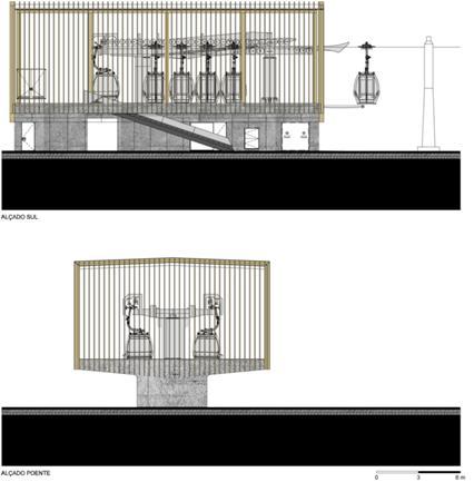 Estação Baixa_Alçados