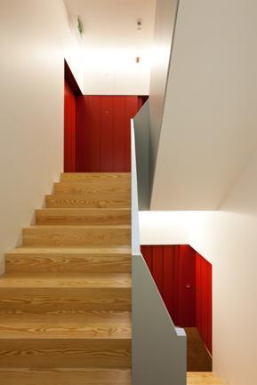 Caixa de Escadas e hall elevadores