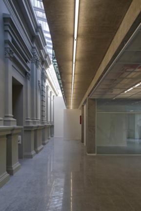 Átrio Superior e acesso a salas de exposição (P1)