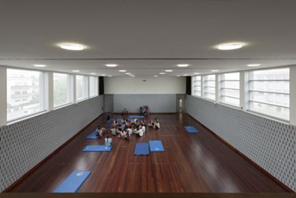 Sala polivalente (antigo ginásio reabilitado)