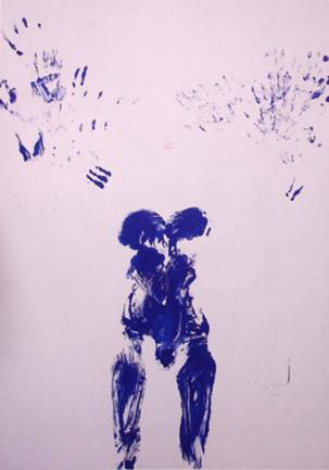 ANT 54 1960 by Yves Klein