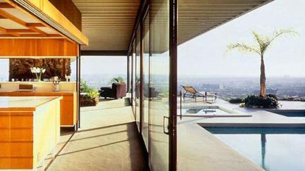 Stahl House, Case Study House #22, Pierre Koenig