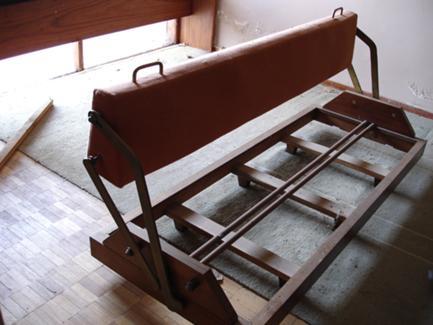 Estado de Degradação do Mobiliário antes da Intervenção