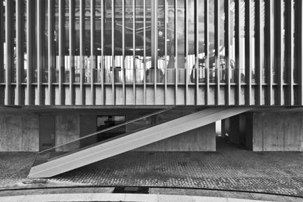Estação Baixa, Vista Exterior