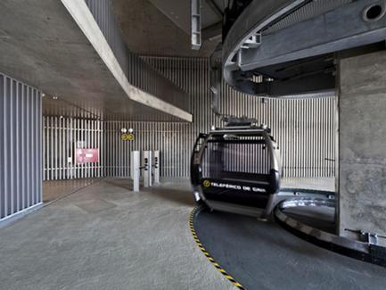 Estação Alta, Vista Interior