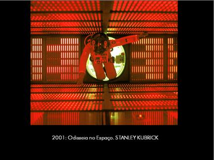 """Imagem do filme """"2001 Odisseia no Espaço"""", Stanley Kubrick, 1968"""