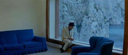 "Imagem do filme ""O Desprezo"", Jean-Luc Godard, 1963"