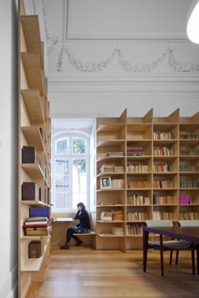 Vista Interior da Biblioteca