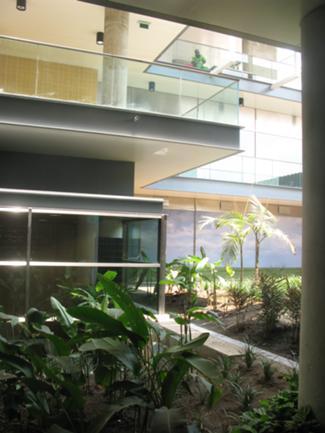 Vista Exterior do Jardim
