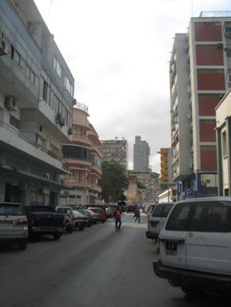 Vista Exterior de uma Rua da Baixa