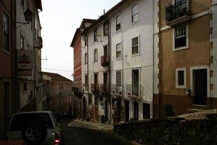 Vista da Rua do Alçado Existente