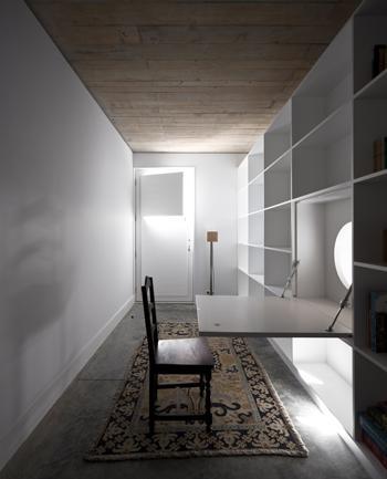 Vista Interior da Sala de Leitura