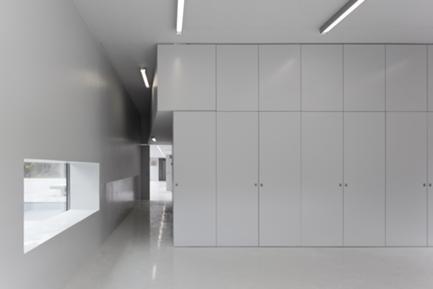 Edifício da Associação de Estudantes: Interior