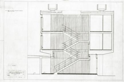Pormenor do Corte Transversal: Desenho original