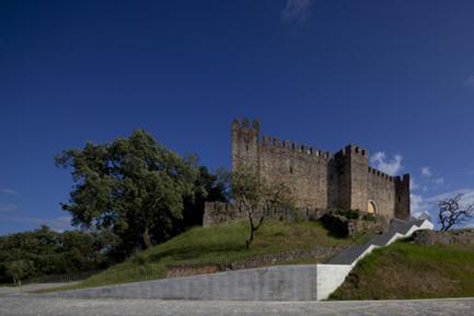 Vista do Acesso ao Castelo