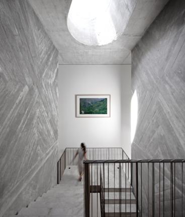 Vista da Clarabóia a Partir da Escadaria