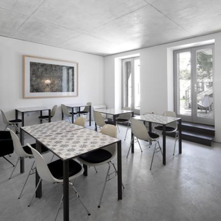 Vista da Sala dos Pequenos Almoços