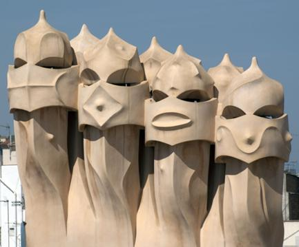Casa Milà (La Pedrera), Antoni Gaudi