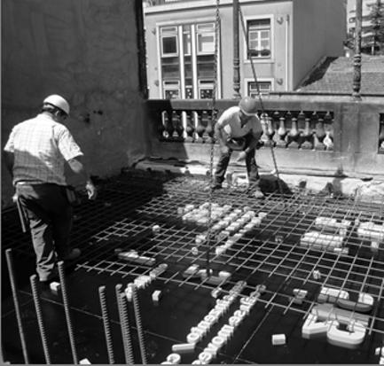 Processo de Construção dos Tectos