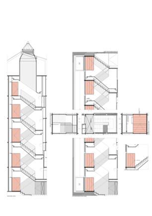 Pormenor: Hall Elevadores e Escadas de Acesso
