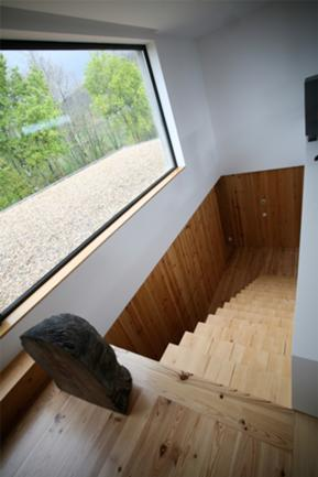 Vista Interior, Escada