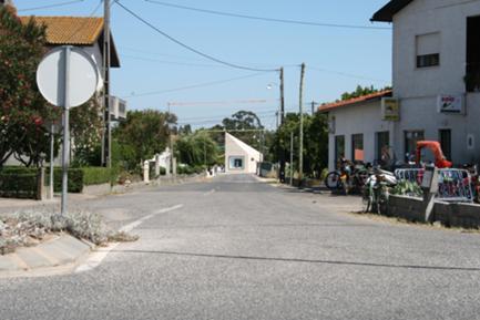 Vista da Rua da Escola
