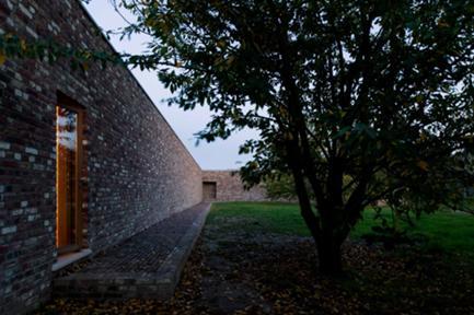 Vista Exterior: Muro